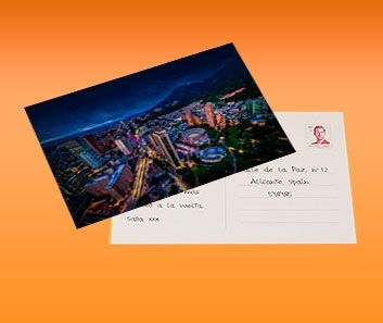 Impresión de Postales